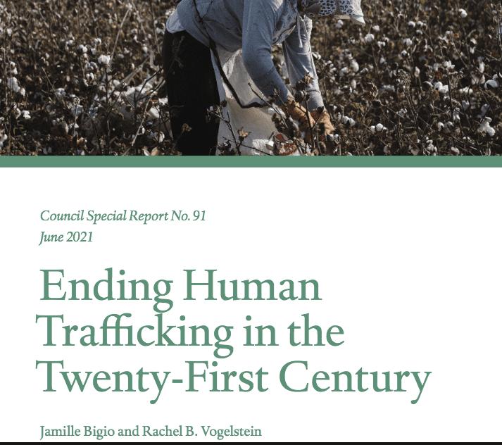 Ending Human Trafficking in the Twenty-First Century