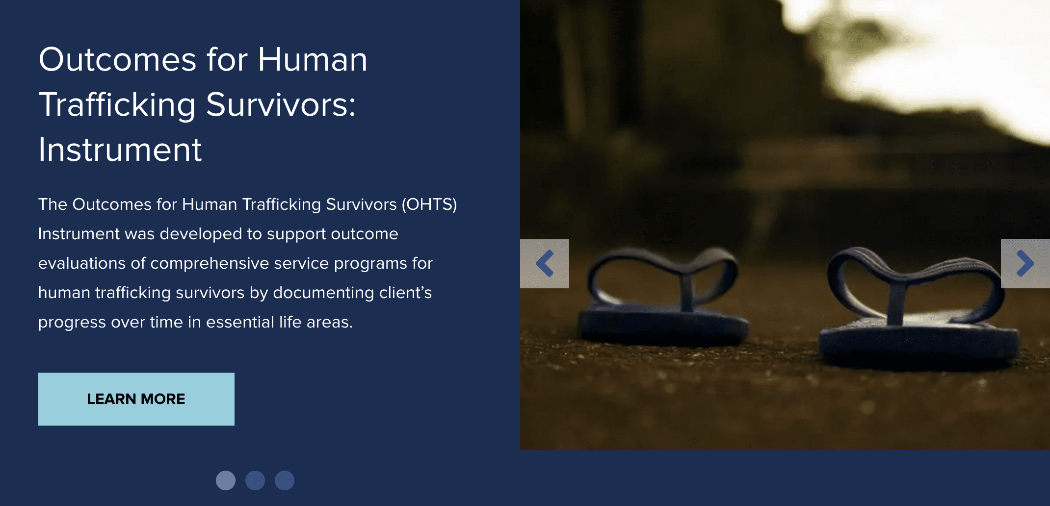 Measuring Outcomes for Survivors of Human Trafficking