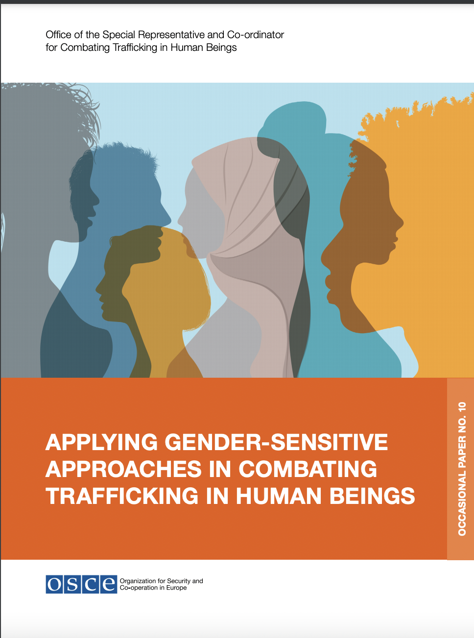 Applying Gender-Sensitive Approaches in Combating Trafficking in Human Beings