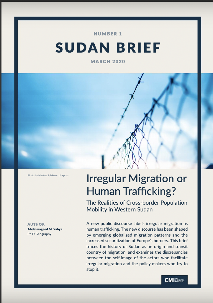 Irregular Migration or Human Trafficking? The Realities of Cross-border Population Mobility in Western Sudan