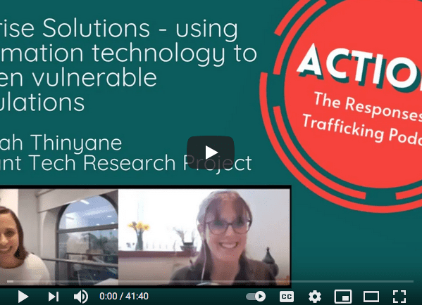 Apprise solutions, Hannah Thinyane, Migrant Tech Research Project