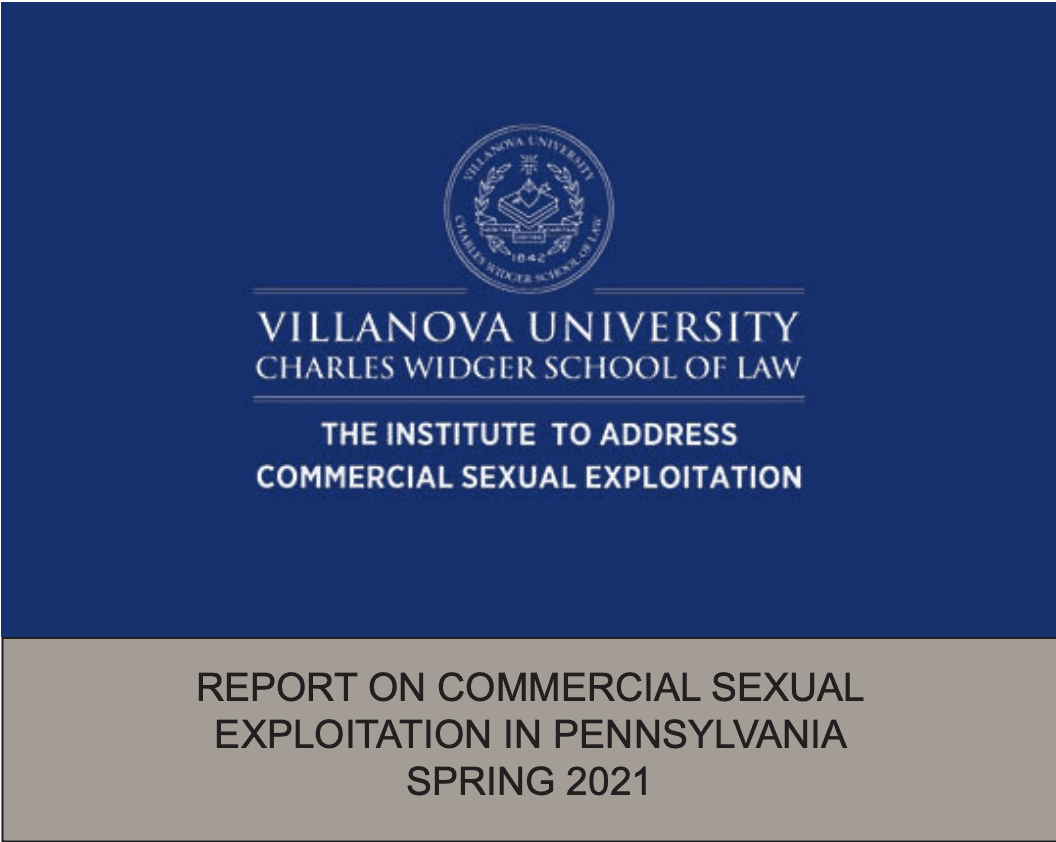 Report on Commercial Sexual Exploitation in Pennsylvania Spring 2021