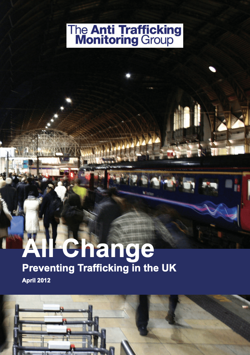 All Change: Preventing Trafficking in the UK