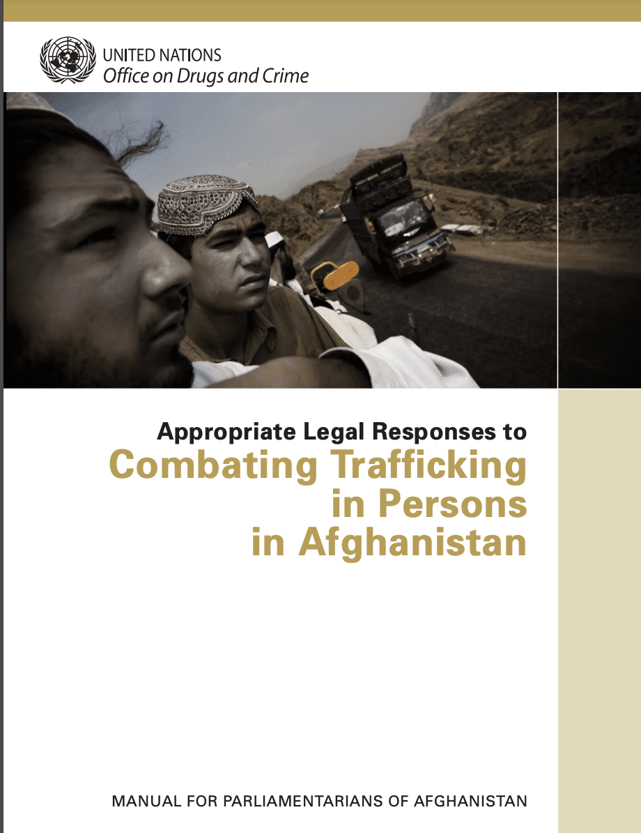 Appropriate Legal Responses to  Combating Trafficking in Persons in Afghanistan