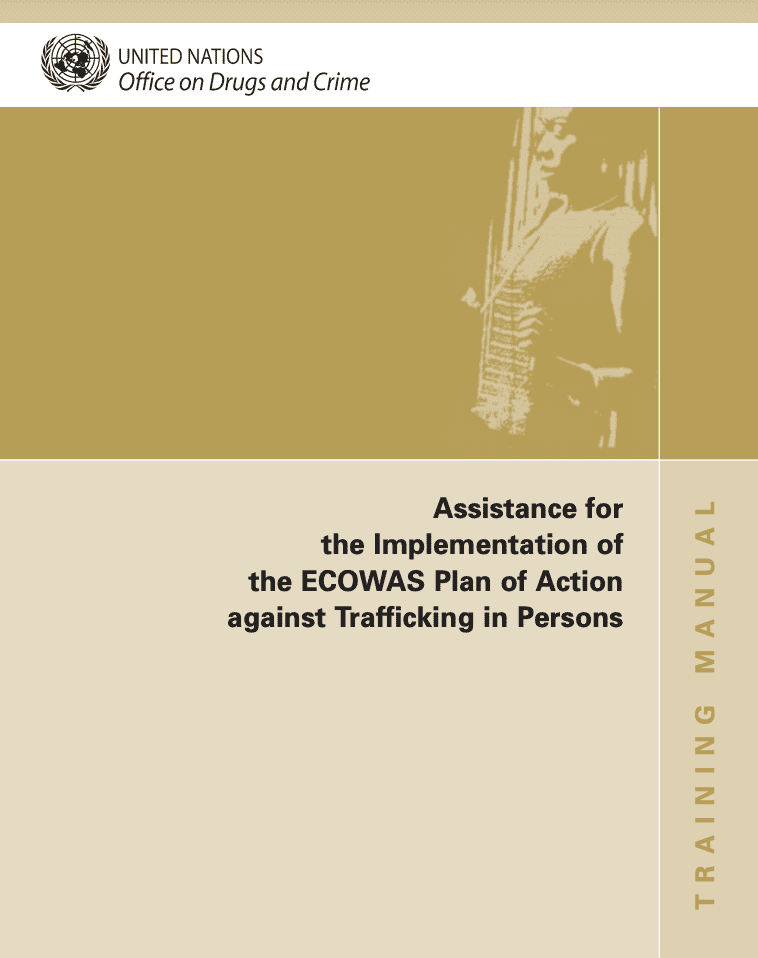 Assistance for the Implementation of the ECOWAS Plan of Action against Trafficking in Persons