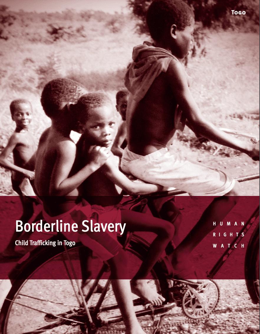 Borderline Slavery: Child Trafficking in Togo