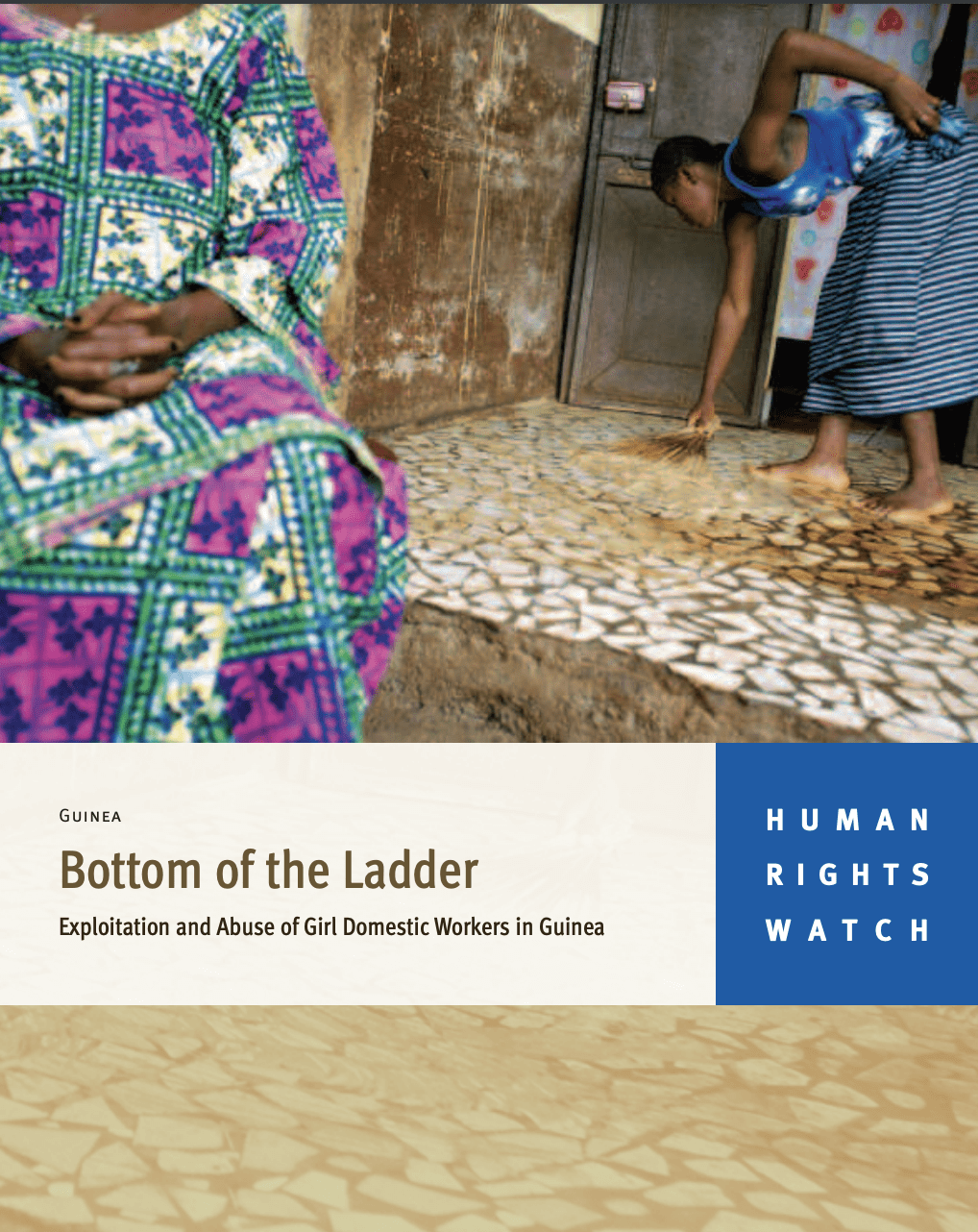 Bottom of the Ladder: Exploitation and Abuse of Girl Domestic Workers in Guinea