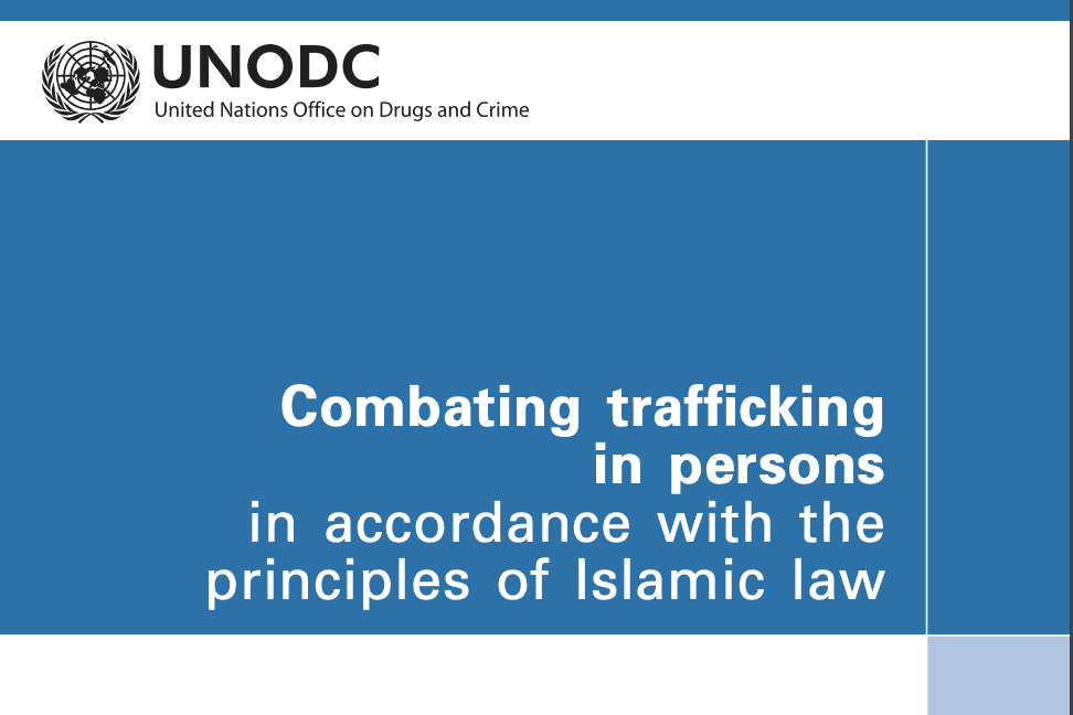 Combating trafficking in persons in accordance with the principles of Islamic law