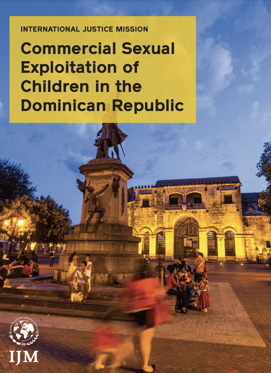 Commercial Sexual Exploitation of Children in the Dominican Republic