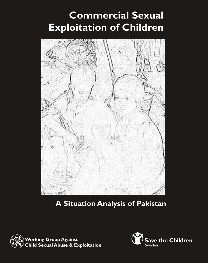 Commercial Sexual Exploitation of Children: A Situation Analysis of Pakistan