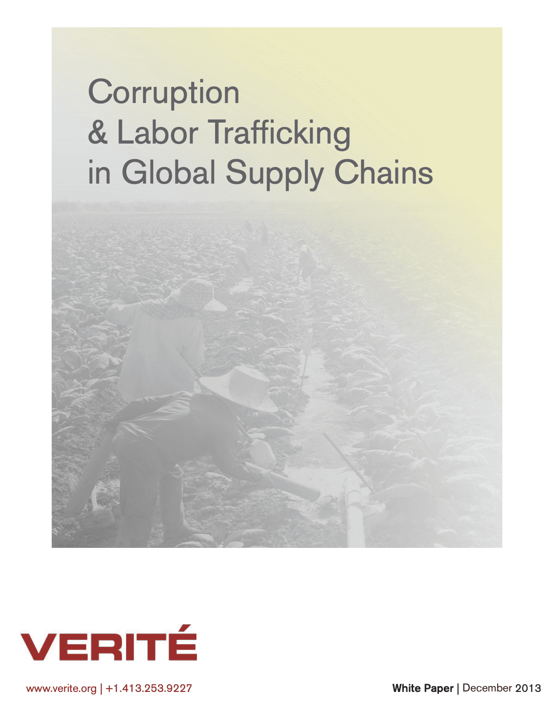 Corruption & Labor Trafficking in Global Supply Chains