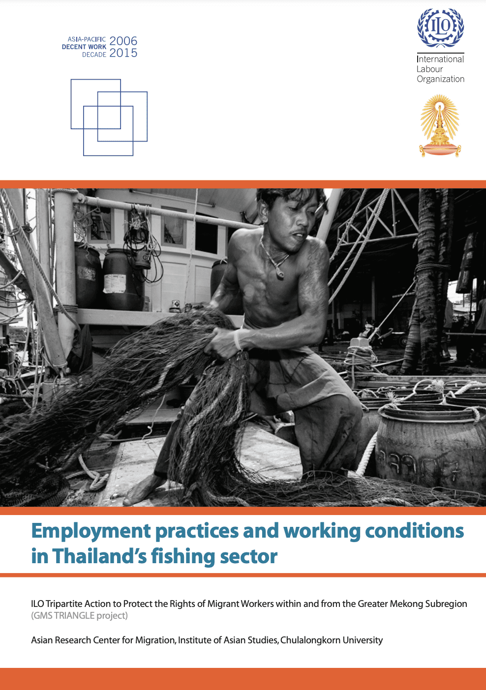 Employment practices and working conditions in Thailand's fishing sector