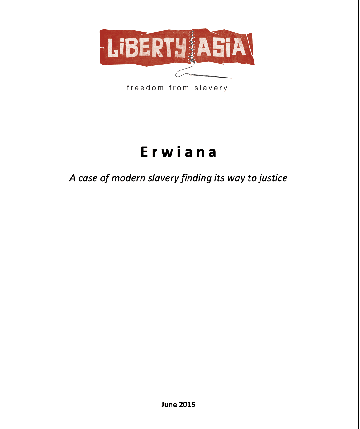 Erwiana: A case of modern slavery finding itsway to justice