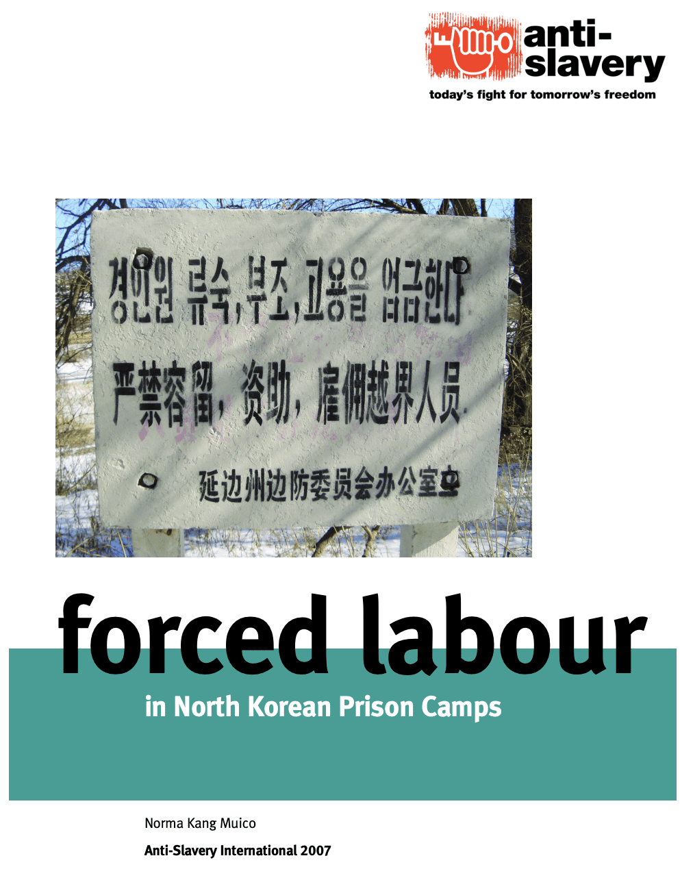 Forced Labour in North Korean Prison Camps