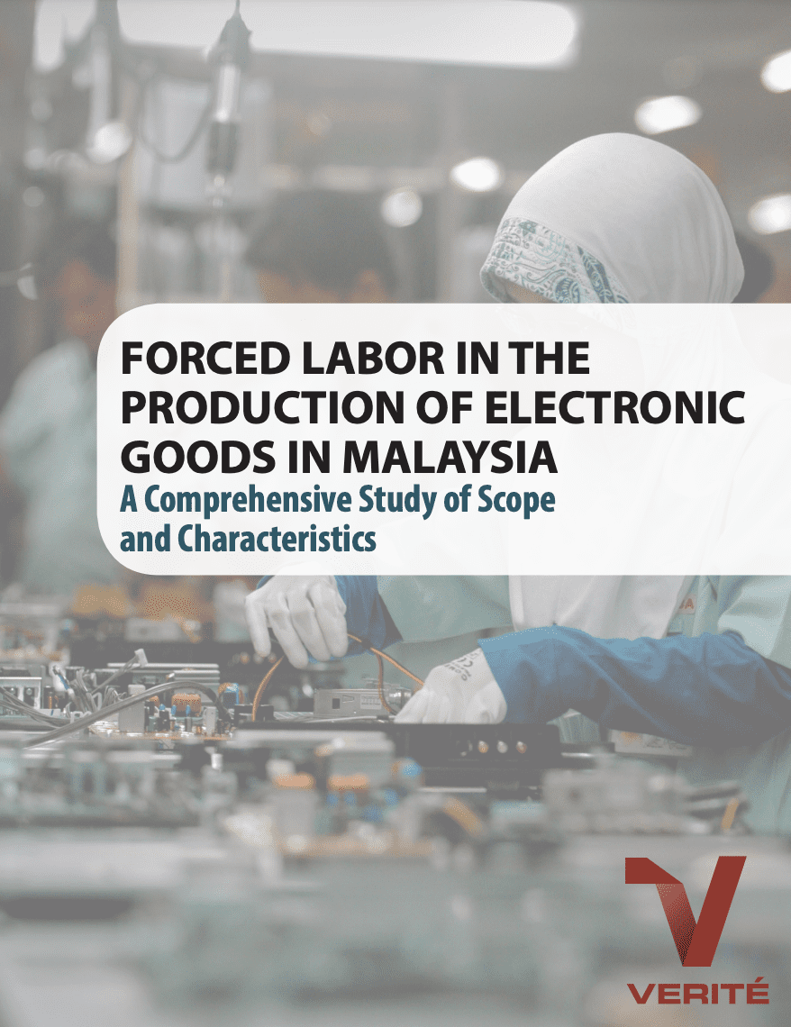 Forced Labor in the Production of Electronic Goods in Malaysia
