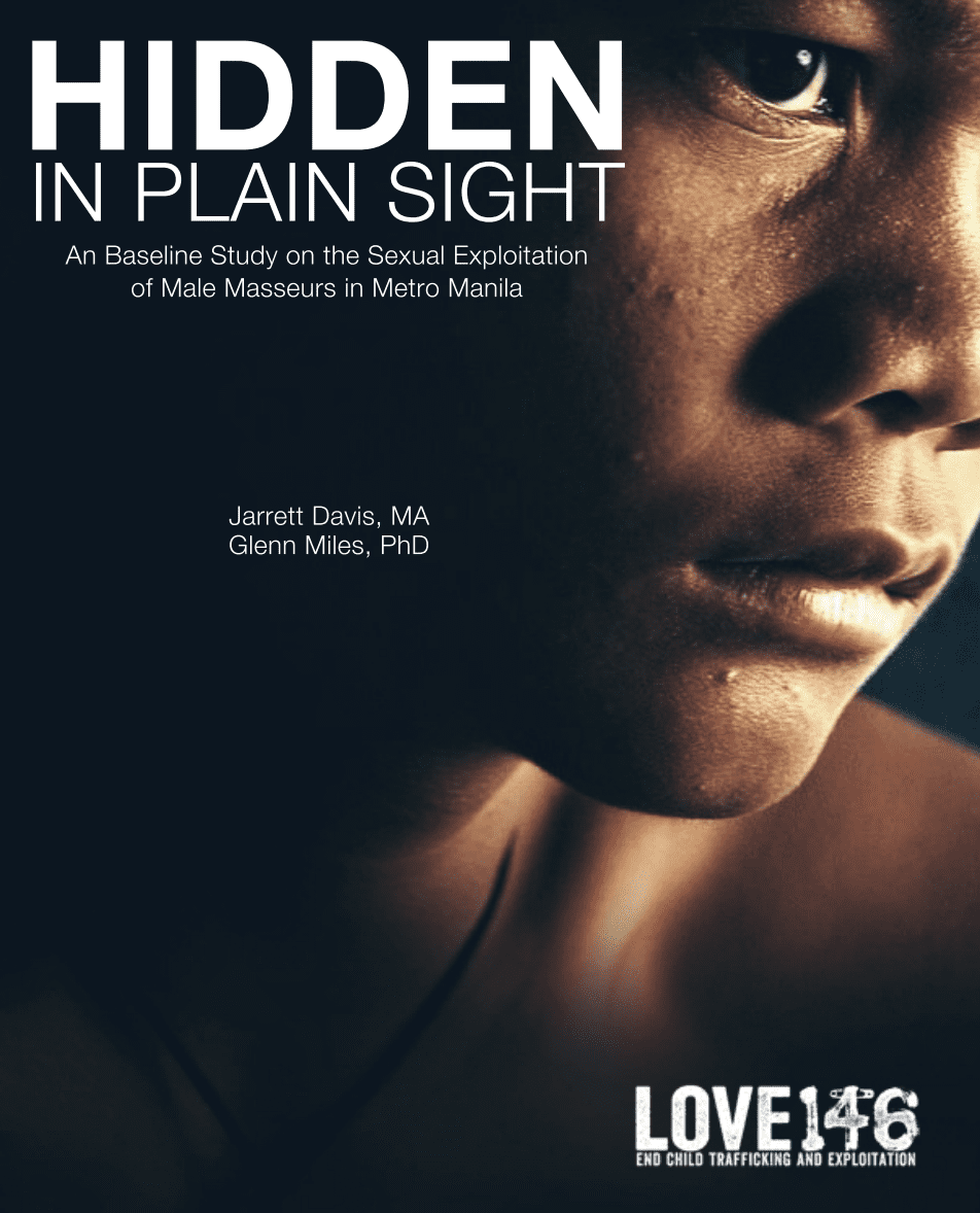 Hidden in Plain Sight: A Baseline Study of Sexually-Exploited Male Masseurs in Metro Manila