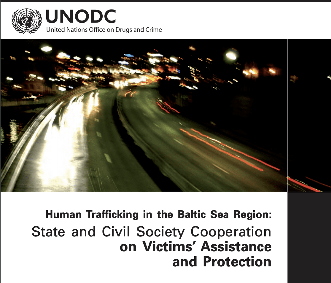 Human Trafficking in the Baltic Sea Region: State and Civil Society Cooperation on Victims' Assistance and Protection